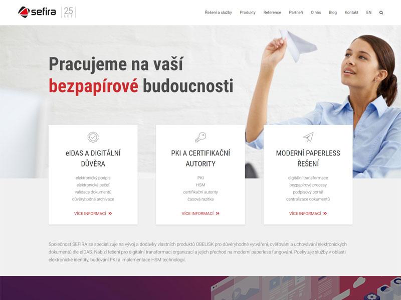 URVIHO - tvorba webových stránek pro IT firmu