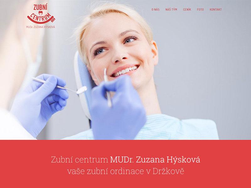 URVIHO - tvorba webových stránek pro zubní ordinaci