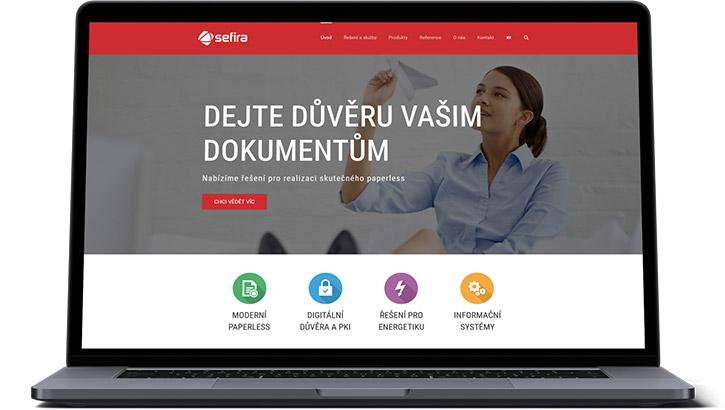 URVIHO - redesign www stránek - Původní web