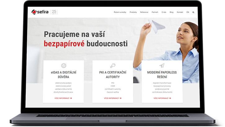 URVIHO - redesign www stránek - Nový web