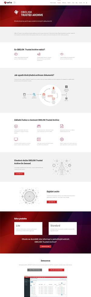 URVIHO - redesign www stránek - popis produktu