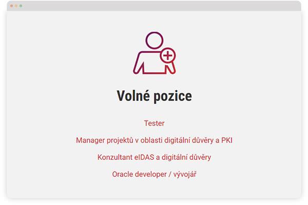 URVIHO - redesign www stránek - Kariéra