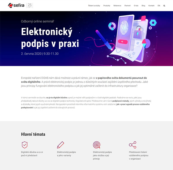 URVIHO - redesign www stránek - Pozvánka na seminář