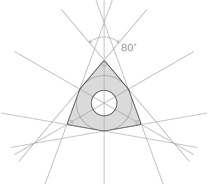Tvorba loga z břitové destičky