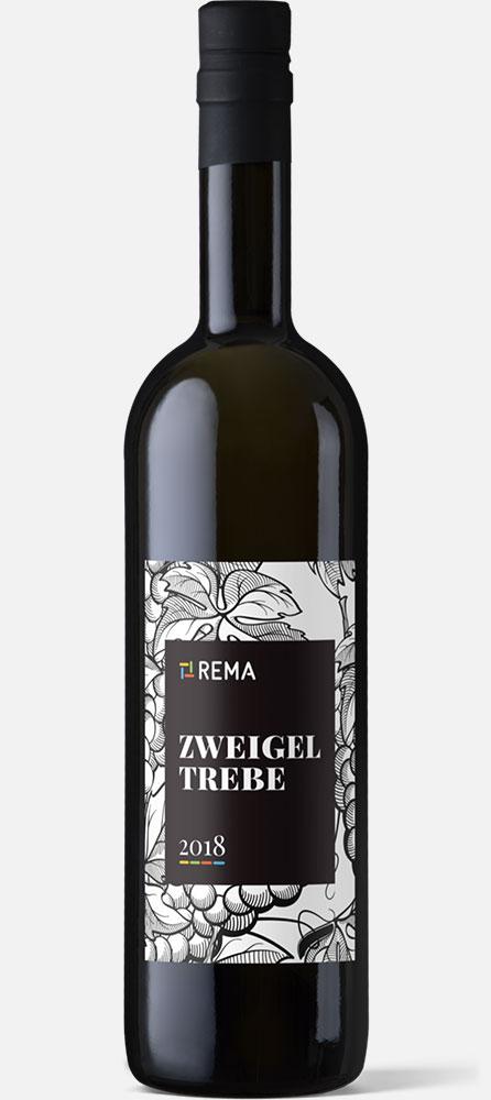Firemní etiketa na víno - REMA